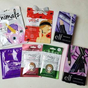 Other - NEW Make up skin/body care set masks Scrub makeup